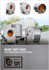 HEAVY DUTY FANS FOR INDUSTRIAL APPLICATIONS